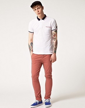 Image 4 ofFila Vintage Polaris Contrast Collar Polo