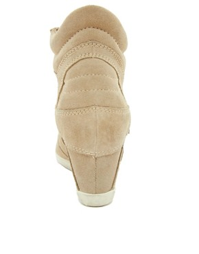 Image 2 ofAsh Bowie Taupe Wedge Trainers