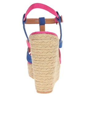 Image 2 ofASOS HARLOW Espadrille Wedges with Multi Straps