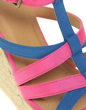 Image 3 ofASOS HARLOW Espadrille Wedges with Multi Straps