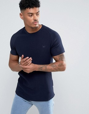Intense T-Shirt In Ribbed With Logo