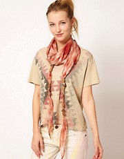 Nali Silk Dip Dyed Scarf