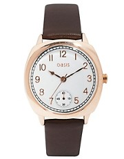 Oasis Watch With Leather Strap
