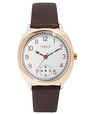 Image 1 ofOasis Watch With Leather Strap