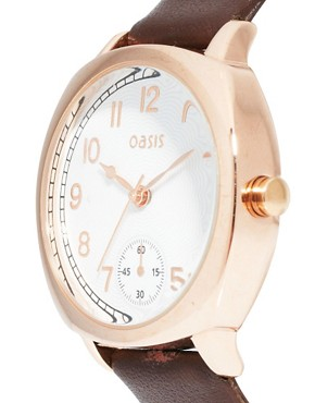 Image 4 ofOasis Watch With Leather Strap