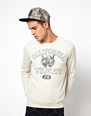 Jack & Jones Sweatshirt With Wildcats Print