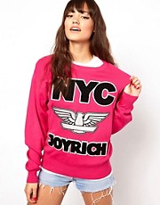 Joyrich Nyc Crew Neck Knitted Sweater