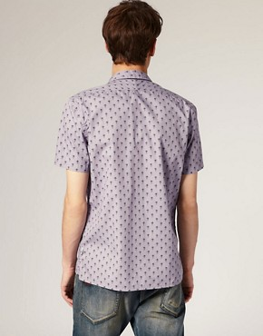 Image 2 of Paul Smith Jeans Pineapple Print Classic Fit Shirt