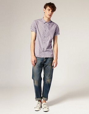 Image 4 of Paul Smith Jeans Pineapple Print Classic Fit Shirt