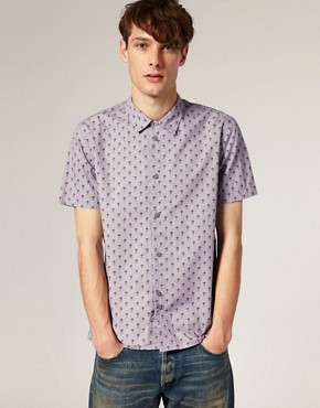 Image 1 of Paul Smith Jeans Pineapple Print Classic Fit Shirt