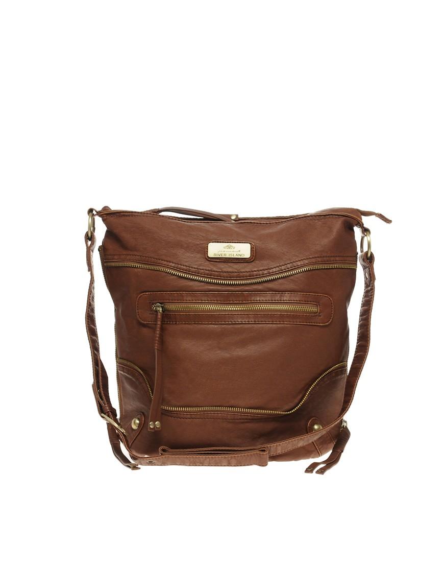 River Island Brown Shoulder Bag 64
