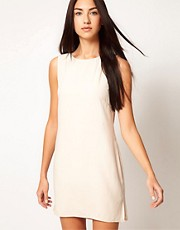 Factory By Erik Hart Shift Dress With Low Back