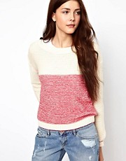 Vero Moda Two Tone Knit Jumper