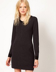 Boutique by Jaeger Knit Dress with Bow Back