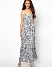 River Island Printed Maxi Cami Dress