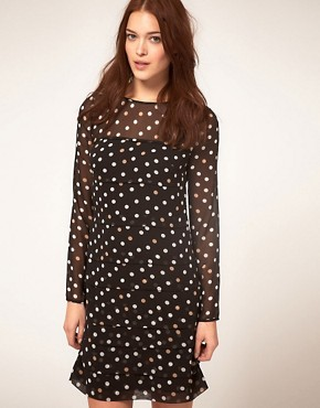 Image 1 ofCoast Polka Dot Dress