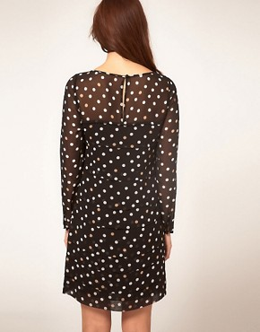 Image 2 ofCoast Polka Dot Dress