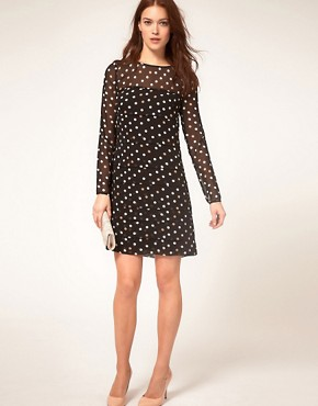 Image 4 ofCoast Polka Dot Dress