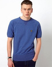 Lyle &amp; Scott Vintage Sweatshirt with Short Sleeves