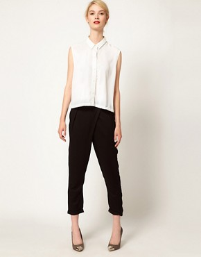 Image 1 ofSelected Mis Cropped Pants
