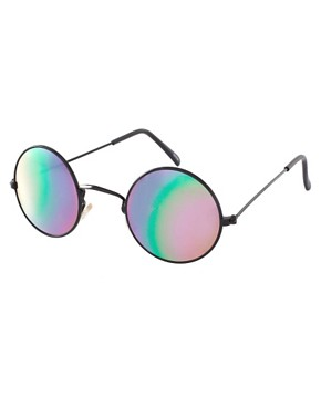Image 1 ofReclaimed Vintage Round Sunglasses