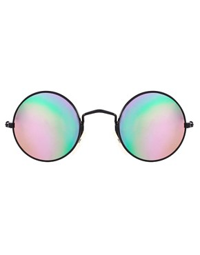 Image 2 ofReclaimed Vintage Round Sunglasses
