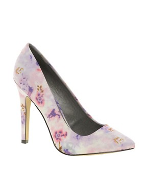Image 1 of ASOS PARIS Pointed High Heels