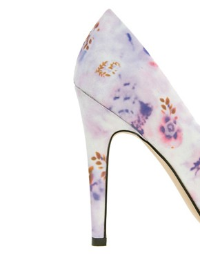 Image 3 of ASOS PARIS Pointed High Heels