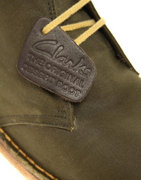 Image 2 ofClarks Originals British Millerain Waxed Desert Boots