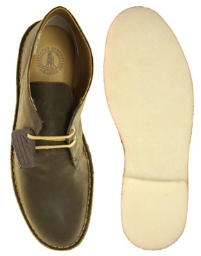 Image 3 ofClarks Originals British Millerain Waxed Desert Boots