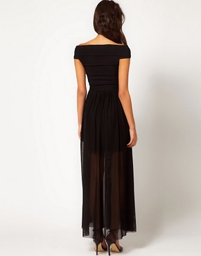 Image 2 ofRare Maxi Dress with Bandage Skirt and Chain Belt