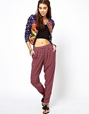 ASOS Trousers in Geo Tile Print