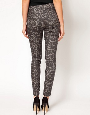 Image 2 ofASOS Maternity Exclusive Skinny Jean In Animal Print