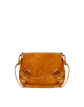 Image 1 ofPieces Laura Leather Cross Body Bag