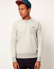 Boxfresh Sweatshirt With Crew Neck