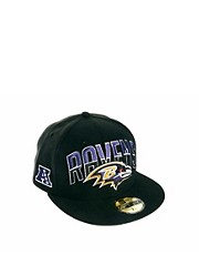 New Era 59Fifty Cap Baltimore Ravens