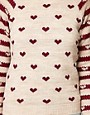 Image 3 ofRiver Island Chelsea Girl Heart Print Jumper