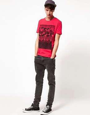 Image 4 ofASOS T-Shirt With Sound Crash Print