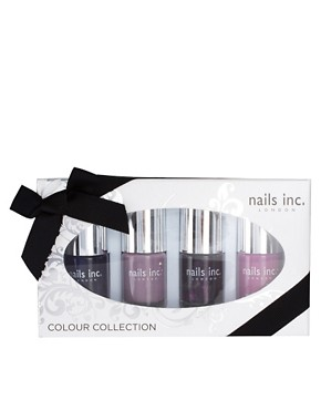 Image 3 ofNails Inc ASOS Exclusive Purple Paris Fashion Collection SAVE 43%