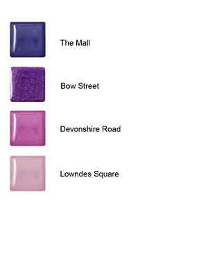 Image 4 ofNails Inc ASOS Exclusive Purple Paris Fashion Collection SAVE 43%