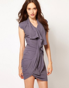 Image 1 ofJNBY Ruffle Jersey Dress