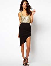 ASOS Skirt with Asymmetric hem