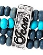 Image 4 of Icon Brand Beaded Bracelet Pack
