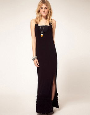 Image 1 ofFor Love &amp; Lemons Maxi Ruffle Dress