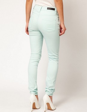 Image 2 ofSelected Annie Twill High Waisted Skinny Jeans