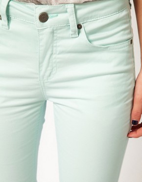 Image 3 ofSelected Annie Twill High Waisted Skinny Jeans