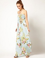 Hilfiger Denim Hawaiian Maxi Dress