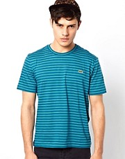 Lacoste Live T-Shirt with Fine Stripe
