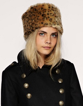 Image 1 ofASOS Fantasy Fur Cossack Hat