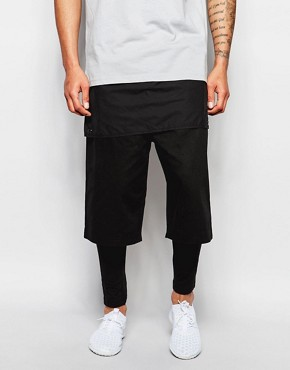 ASOS Meggings With Short In Extreme Short Length